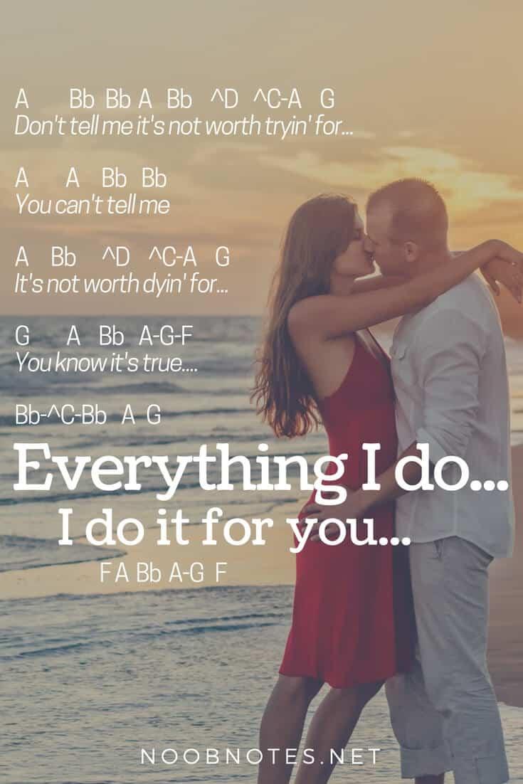 I Do Not Like: Everything I Do, I Do It For You