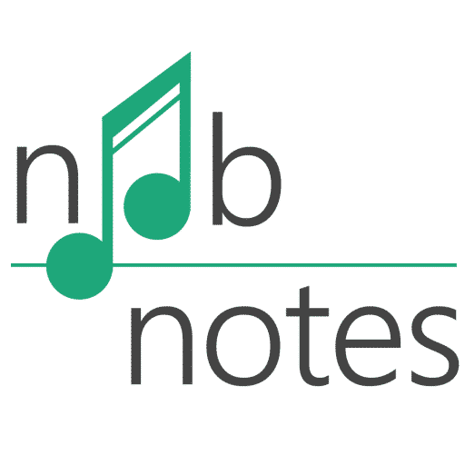 Popular songs in letter notes - music notes for newbies