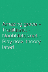 Amazing grace – Traditional