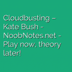 Cloudbusting – Kate Bush