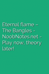 Eternal flame – The Bangles