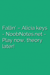 Fallin' – Alicia keys