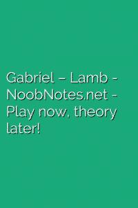 Gabriel – Lamb
