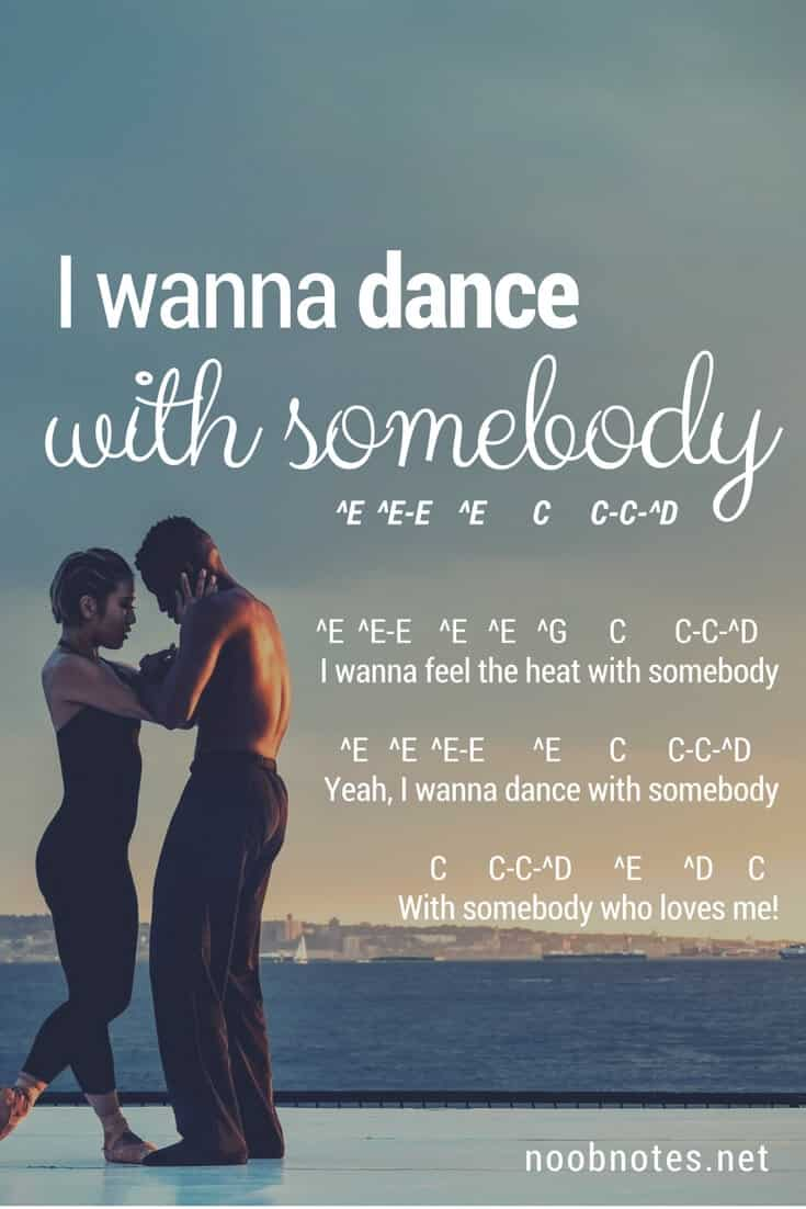 I wanna dance with somebody (who loves me) by whitney houston