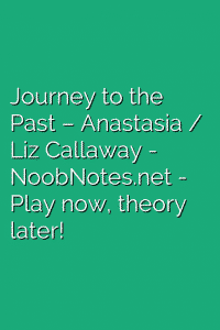 Journey to the Past – Anastasia / Liz Callaway