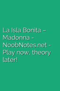 La Isla Bonita – Madonna