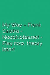 My Way – Frank Sinatra
