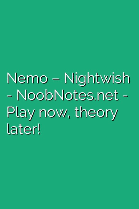 Nemo – Nightwish