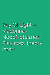 Ray Of Light – Madonna