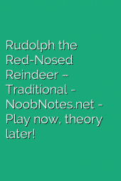 Rudolph the Red-Nosed Reindeer – Traditional