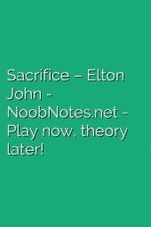 Sacrifice – Elton John