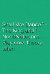 Shall We Dance? – The King and I