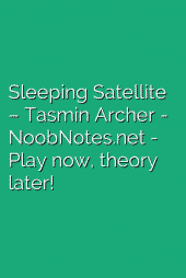 Sleeping Satellite – Tasmin Archer