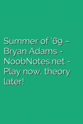 Summer of '69 – Bryan Adams