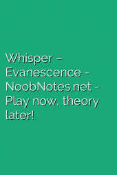 Whisper – Evanescence