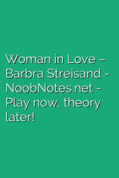 Woman in Love – Barbra Streisand