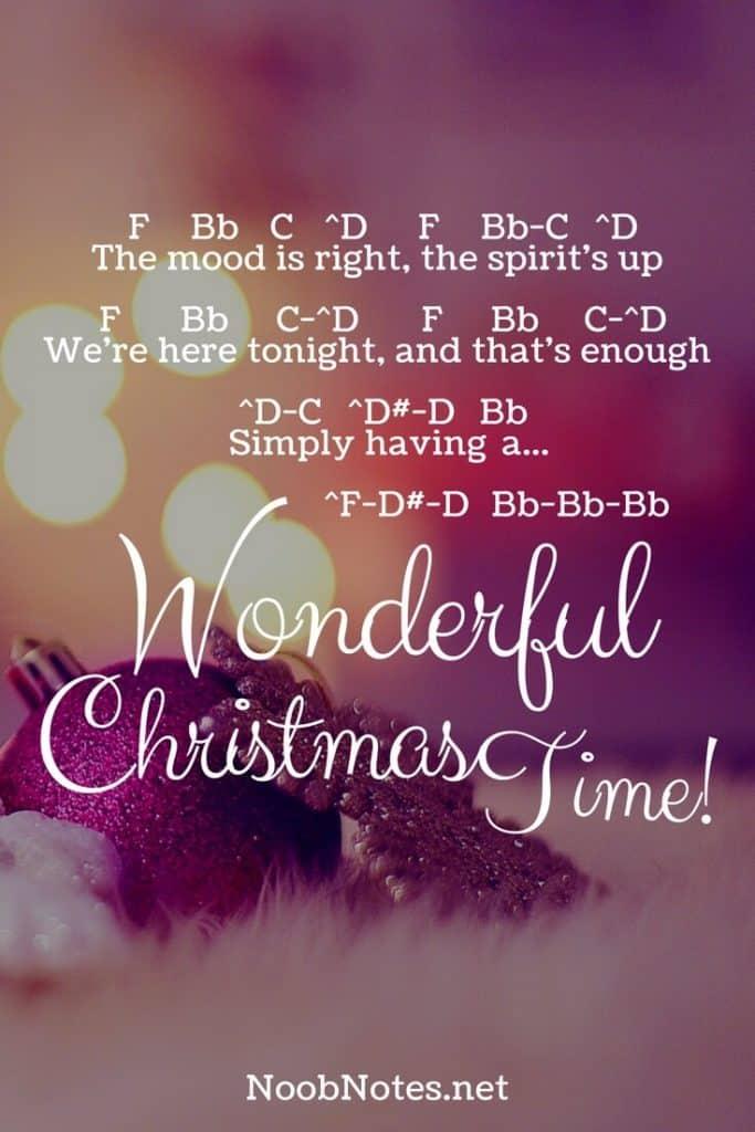 wonderful christmas time paul mccartney - Simply Having A Wonderful Christmas Time Lyrics