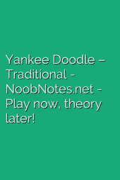 Yankee Doodle – Traditional