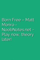 Born Free – Matt Monro
