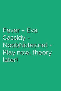 Fever – Eva Cassidy