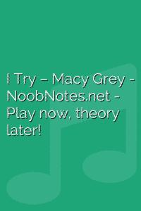 I Try – Macy Grey