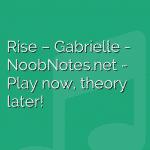 Rise – Gabrielle
