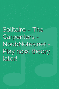Solitaire – The Carpenters