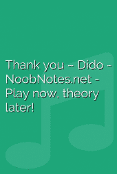 Thank you – Dido