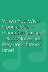 When You Wish Upon a Star – Pinocchio (Disney)