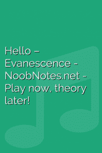 Hello – Evanescence