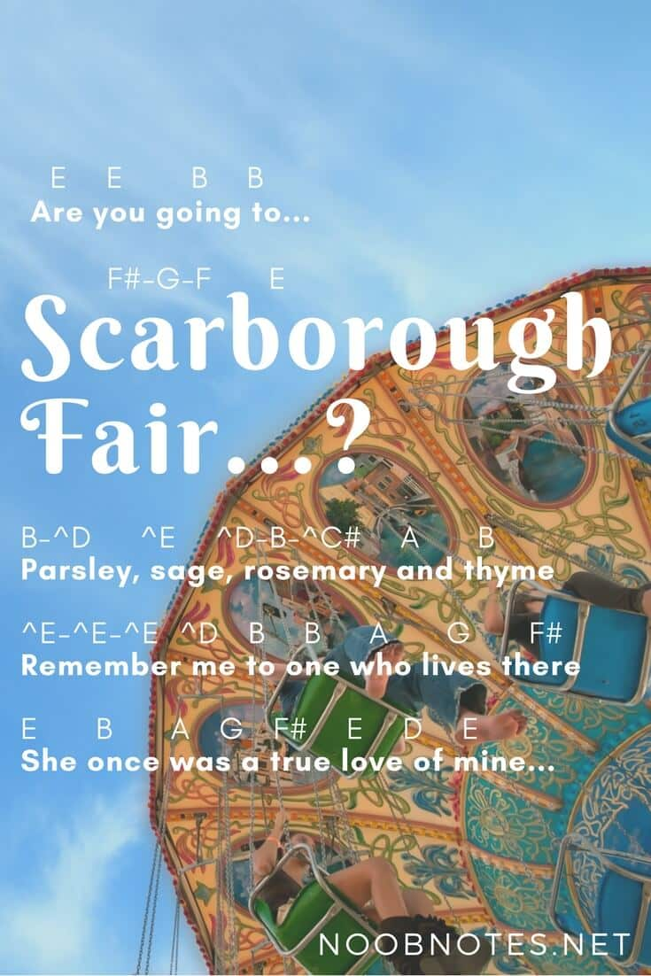Are you going to scarborough fair