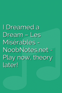 I Dreamed a Dream – Les Misérables