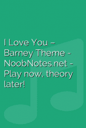 I Love You – Barney Theme