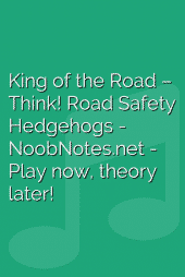 King of the Road – Think! Road Safety Hedgehogs