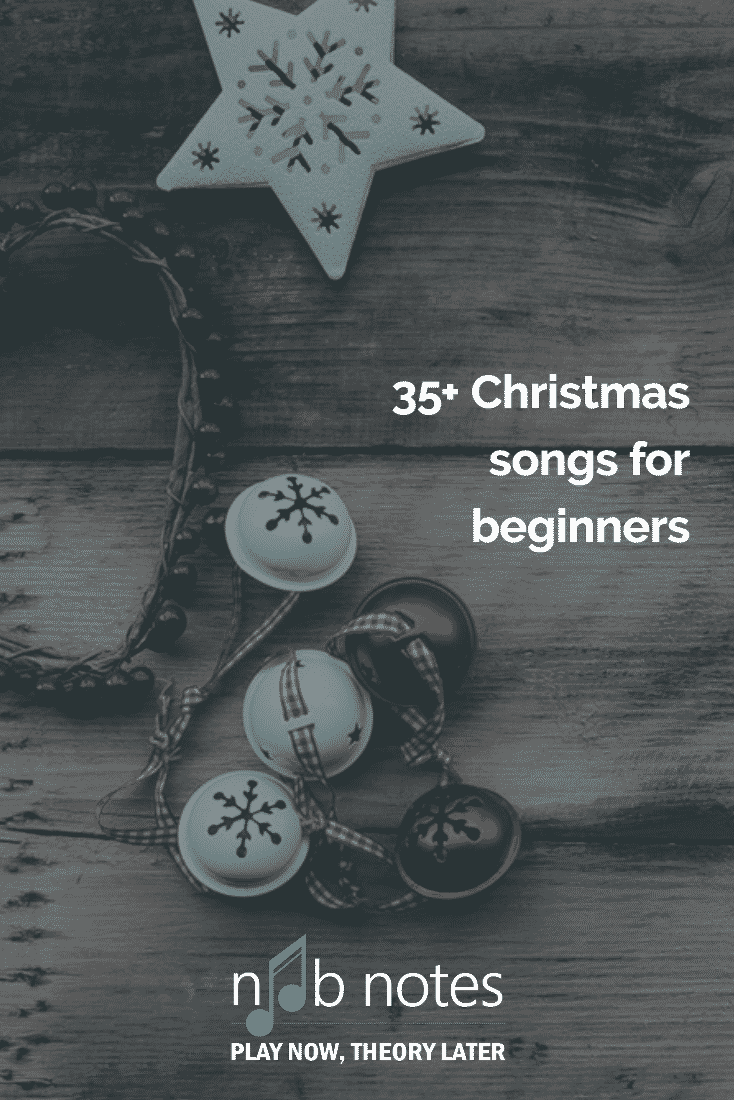 Christmas Song Collection Music Notes For Newbies