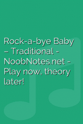 Rock-a-bye Baby – Traditional