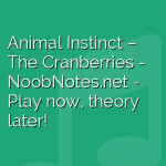 Animal Instinct – The Cranberries