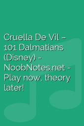 Cruella De Vil – 101 Dalmatians (Disney)