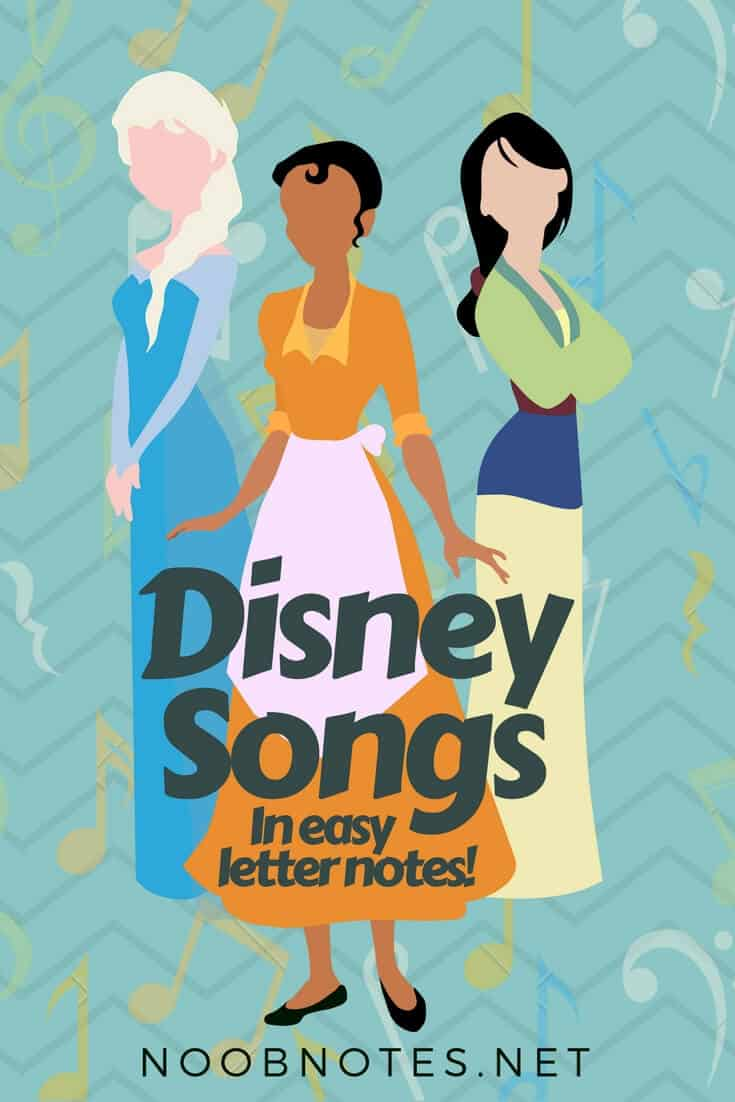 Disney Music Notes Collection Music Notes For Newbies
