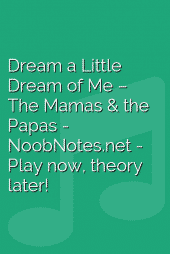 Dream a Little Dream of Me – The Mamas & the Papas
