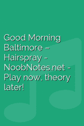 Good Morning Baltimore – Hairspray