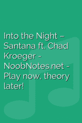 Into the Night – Santana ft. Chad Kroeger