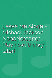 Leave Me Alone – Michael Jackson