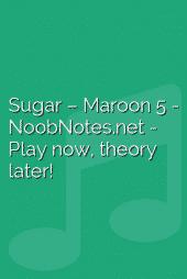 Sugar – Maroon 5