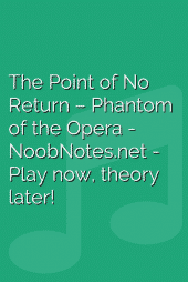 The Point of No Return – Phantom of the Opera