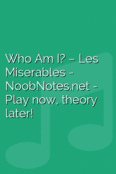 Who Am I? – Les Miserables
