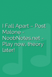 I Fall Apart – Post Malone