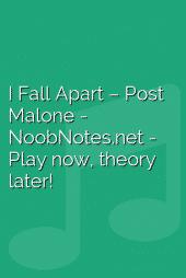 I Fall Apart – Post Malone