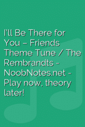 I'll Be There for You – Friends Theme Tune / The Rembrandts
