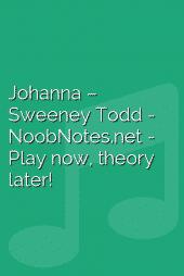 Johanna – Sweeney Todd